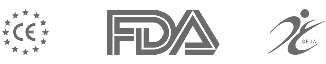 CE, SFDA, FDA Registered